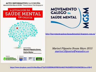 Acto Informativo: A situación da saúde mental en Galicia