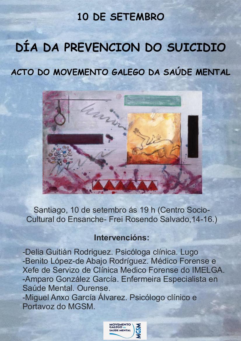 Acto polo Día Mundial do Suicidio