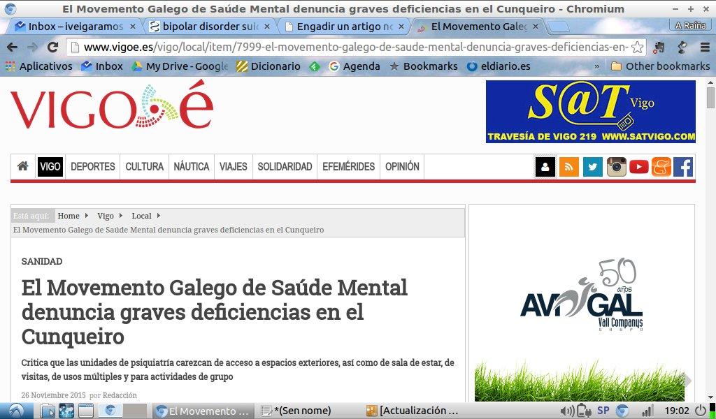 Vigo É: O MGSM denuncia graves deficiencias no Hospital Álvaro Cunqueiro