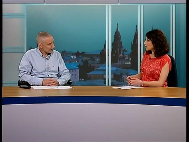 Entrevista a Miguel Anxo García Álvarez, voceiro do MGSM, en Santiago TV