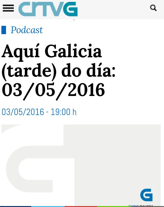 Radio Galega: Aquí Galicia