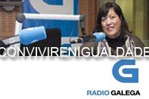 """Entrevista con Miguel Anxo Garcia no programa de Radio Galega """"Convivir en Igualdade"""""""