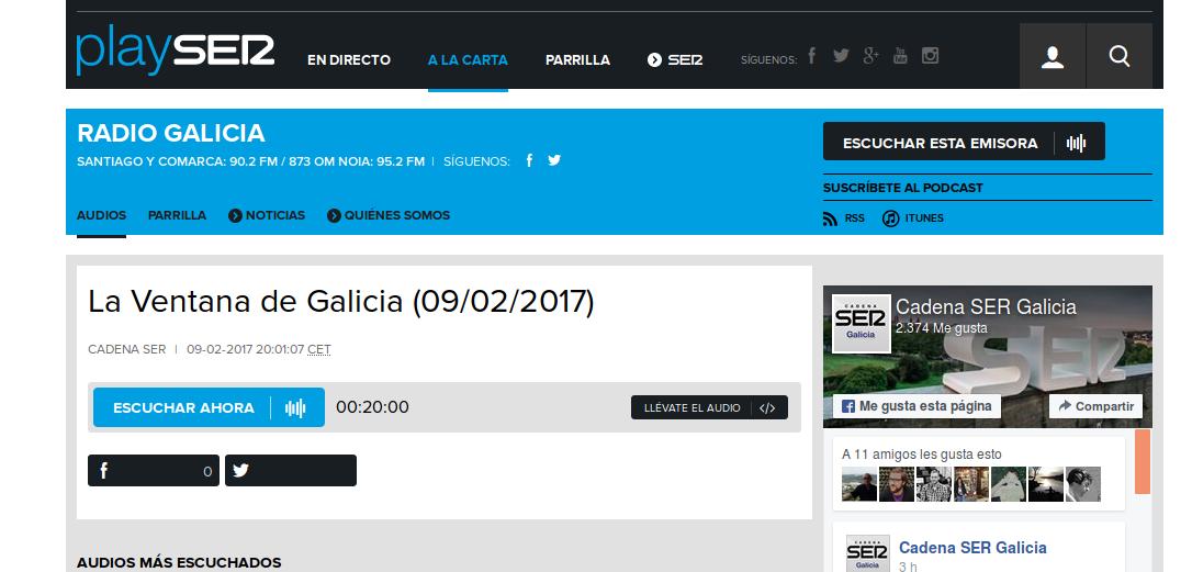 La ventana de Galicia: Entrevista a Miguel Anxo García Álvarez sobre a situación das Unidades de Hospitalización
