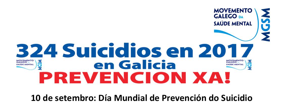10 de setembro: Día Mundial de Prevención do Suicidio